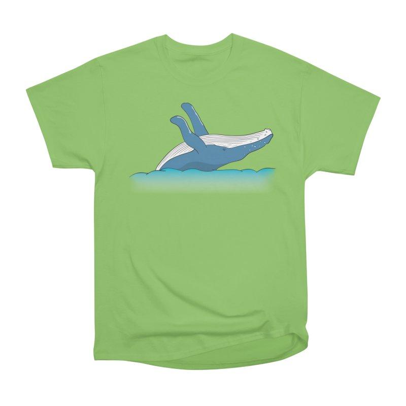 Humpback jumps! Women's Heavyweight Unisex T-Shirt by Synner Design