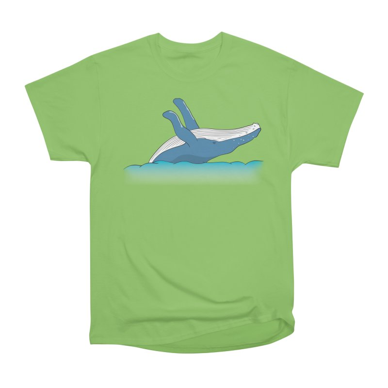 Humpback jumps! Men's Heavyweight T-Shirt by Synner Design