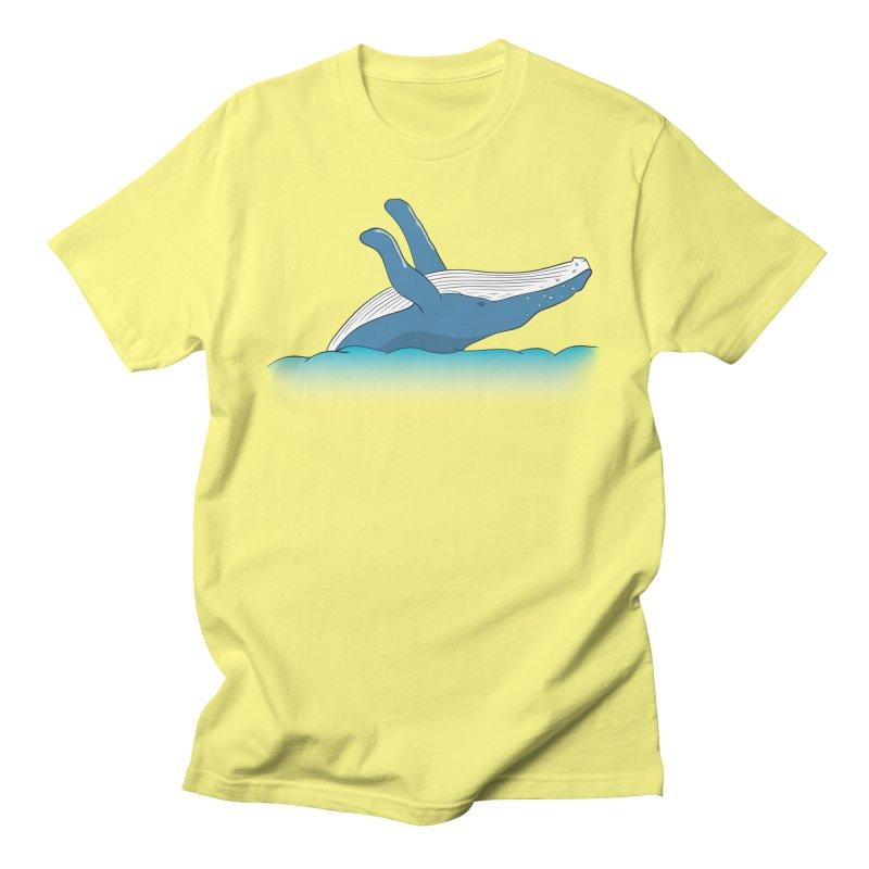 Humpback jumps! Men's T-Shirt by Synner Design