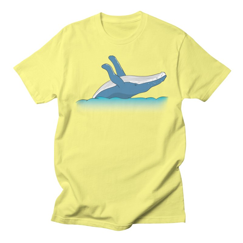 Humpback jumps! Men's T-Shirt by Synner Design