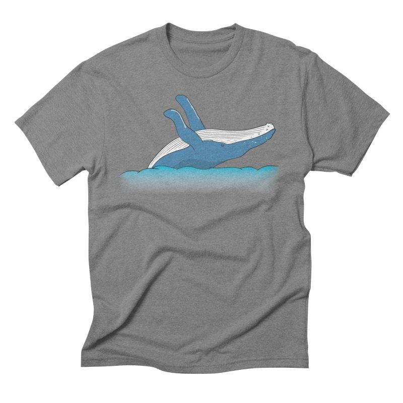 Humpback jumps! Men's Triblend T-Shirt by Synner Design