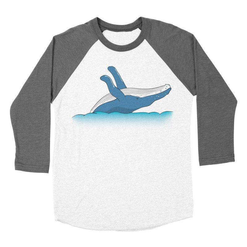 Humpback jumps! Women's Longsleeve T-Shirt by Synner Design