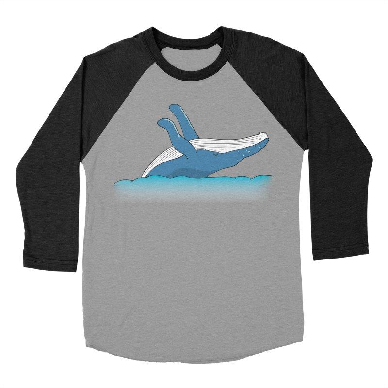 Humpback jumps! Women's Baseball Triblend Longsleeve T-Shirt by Synner Design