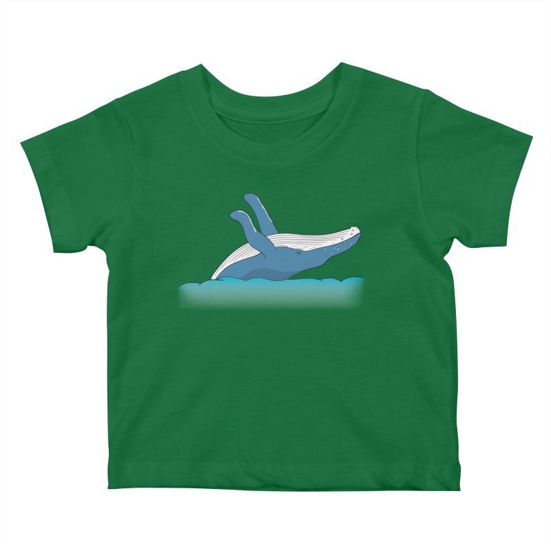 Humpback jumps! Kids Baby T-Shirt by Synner Design