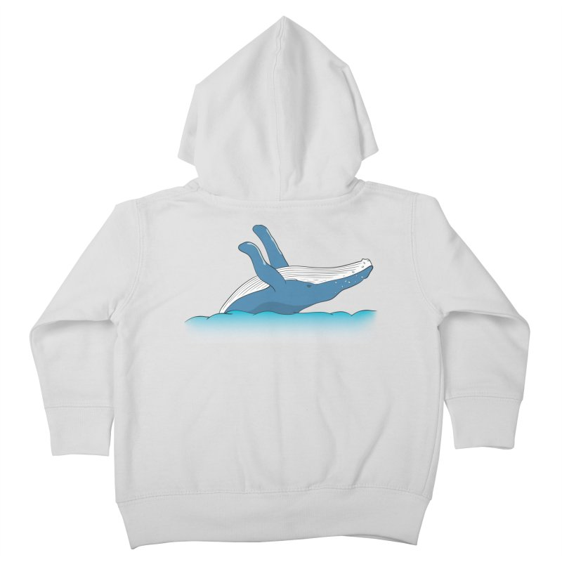 Humpback jumps! Kids Toddler Zip-Up Hoody by Synner Design