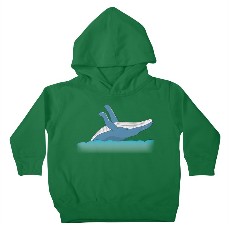Humpback jumps! Kids Toddler Pullover Hoody by Synner Design