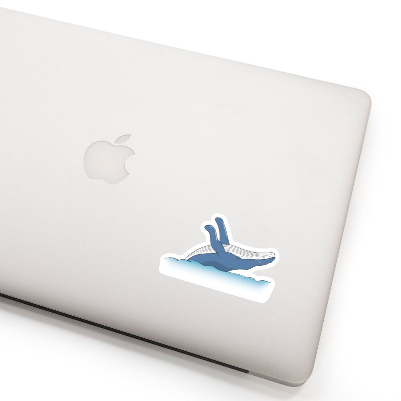 Humpback jumps! Accessories Sticker by Synner Design