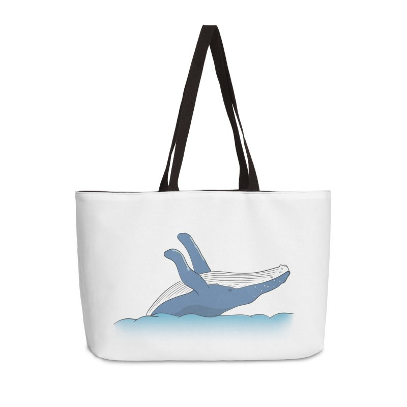 Humpback jumps! Accessories Weekender Bag Bag by Synner Design