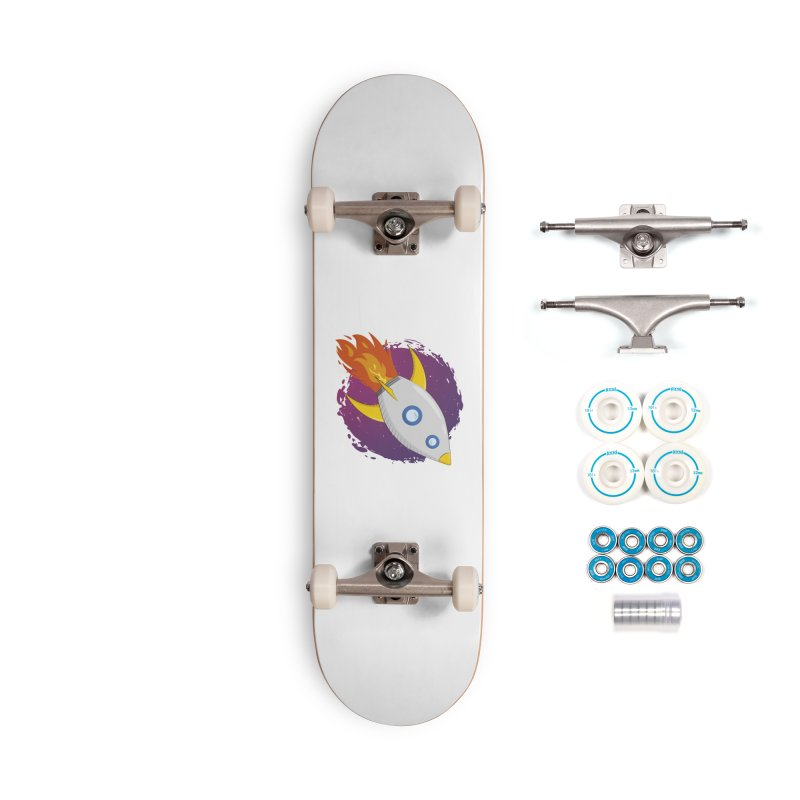 Space Rocket Accessories Complete - Basic Skateboard by Synner Design