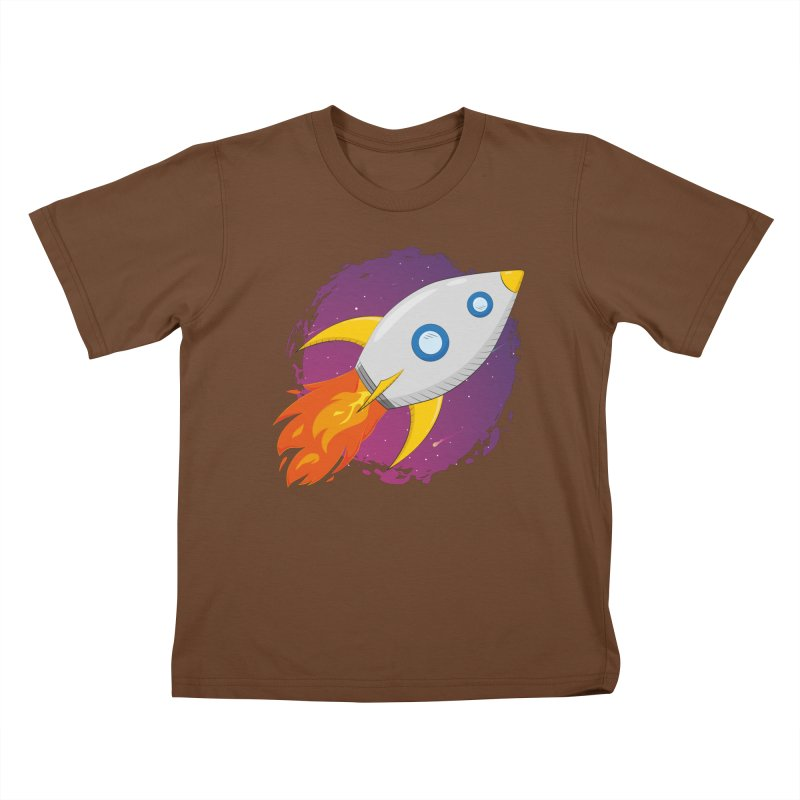Space Rocket Kids T-Shirt by Synner Design