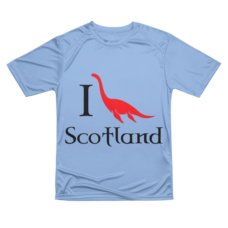I (heart) Scotland Men's Performance T-Shirt by Synner Design