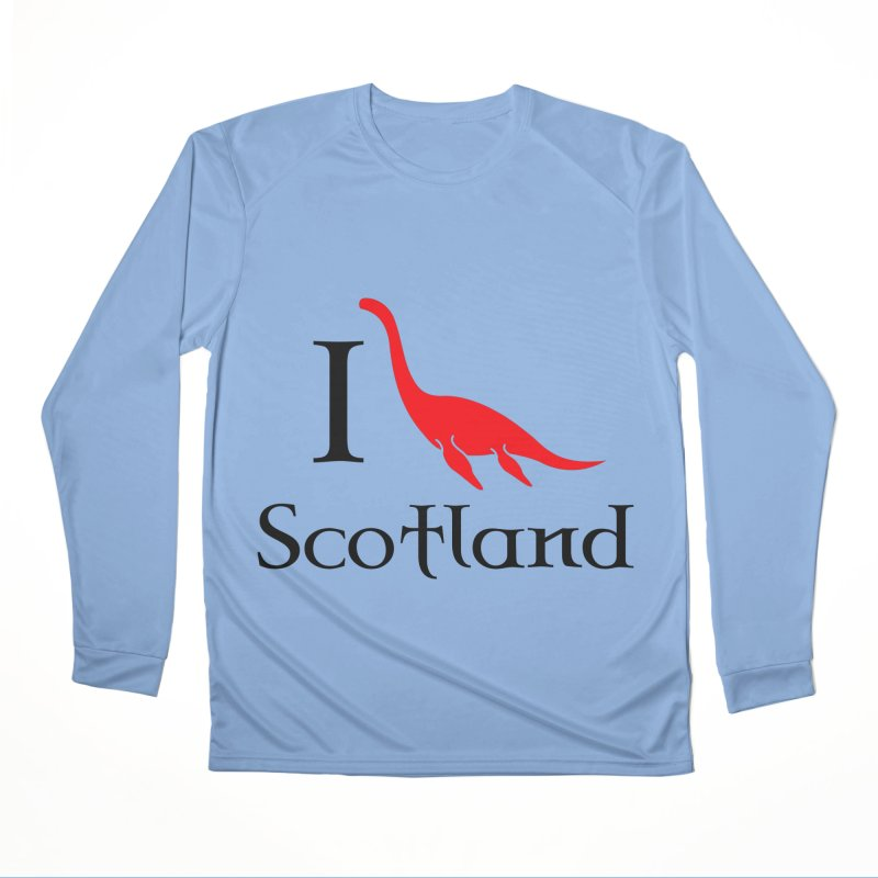 I (heart) Scotland Women's Performance Unisex Longsleeve T-Shirt by Synner Design