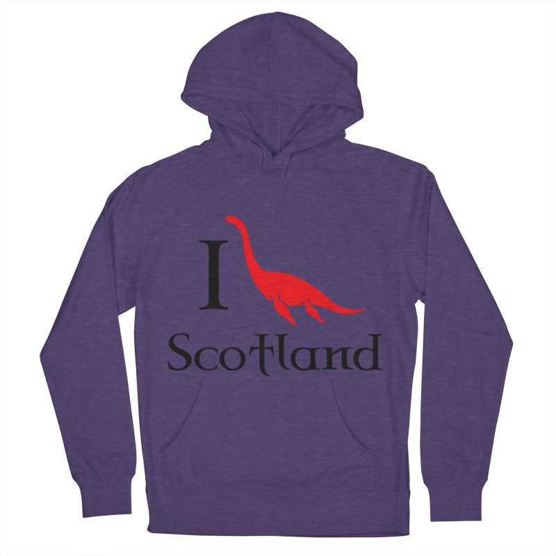 I (heart) Scotland Men's Pullover Hoody by Synner Design