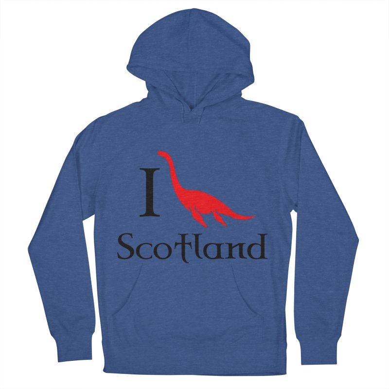 I (heart) Scotland Men's French Terry Pullover Hoody by Synner Design