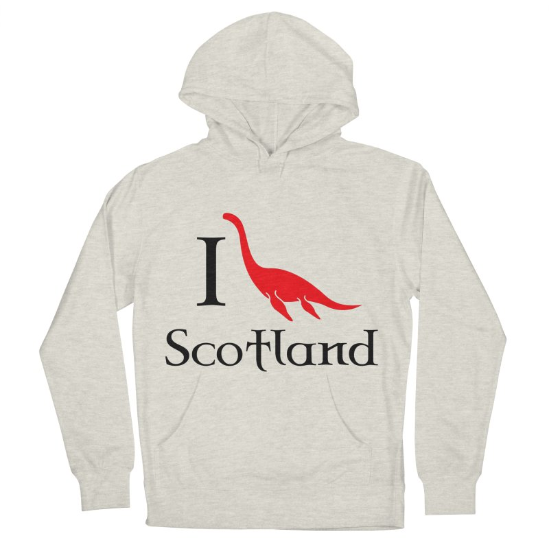 I (heart) Scotland Men's Pullover Hoody by Synner Design
