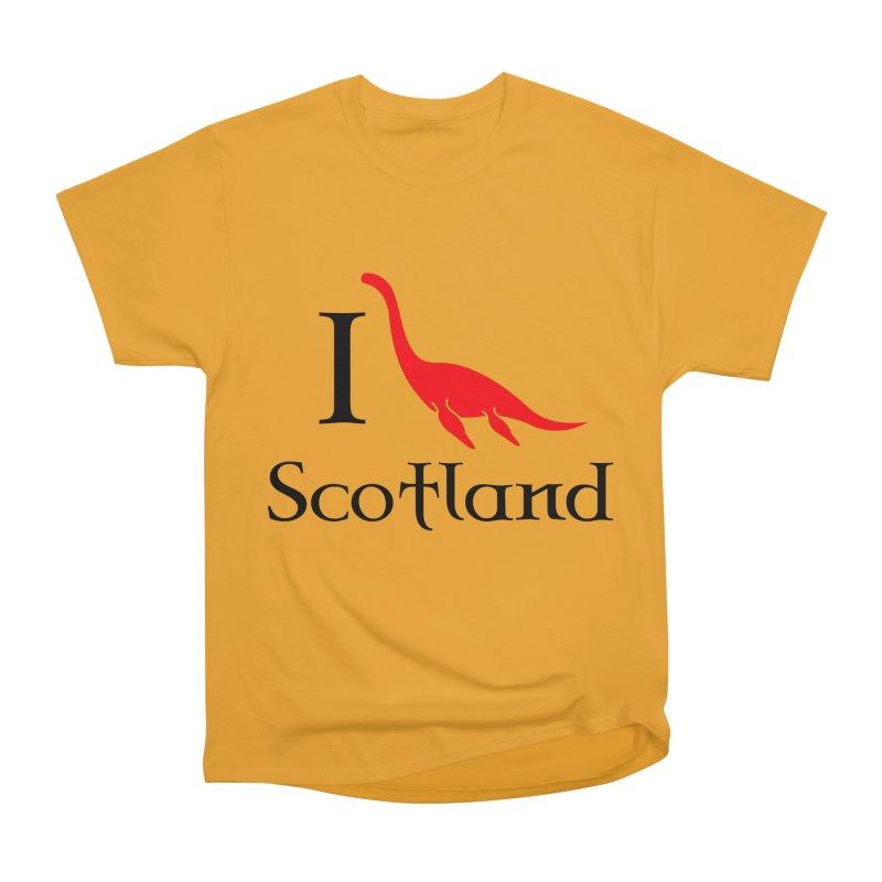 I (heart) Scotland Men's Heavyweight T-Shirt by Synner Design