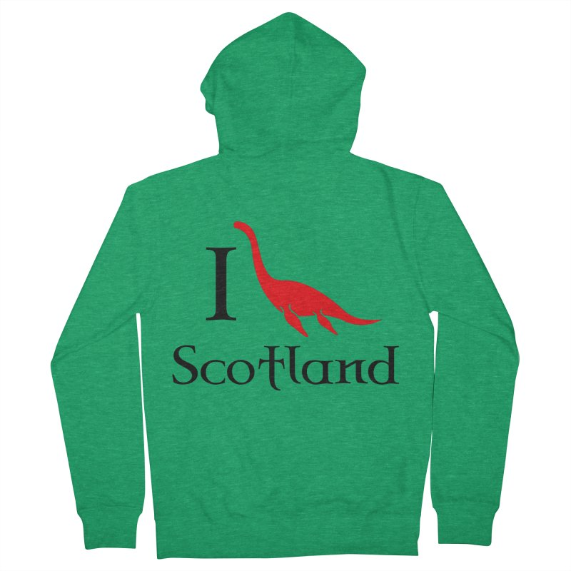 I (heart) Scotland Women's Zip-Up Hoody by Synner Design