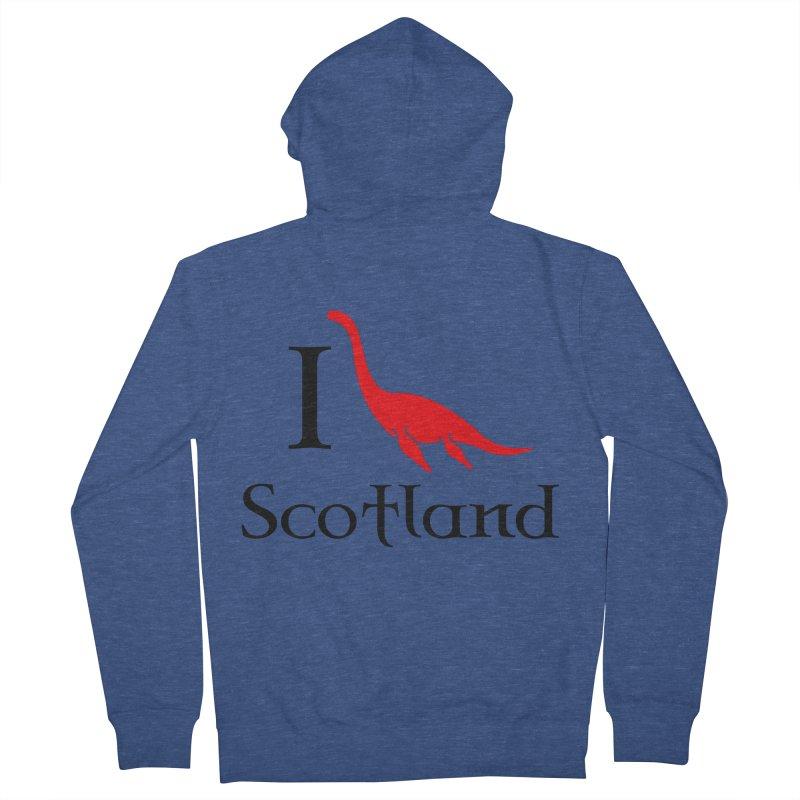 I (heart) Scotland Men's Zip-Up Hoody by Synner Design