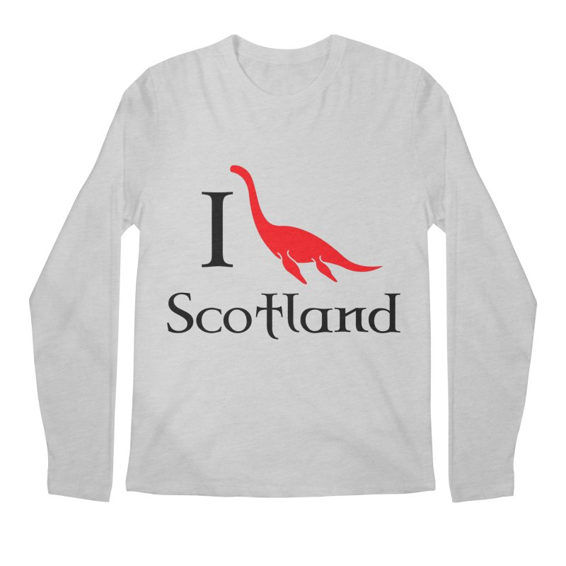 I (heart) Scotland Men's Longsleeve T-Shirt by Synner Design