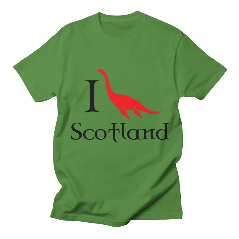 I (heart) Scotland Men's T-Shirt by Synner Design