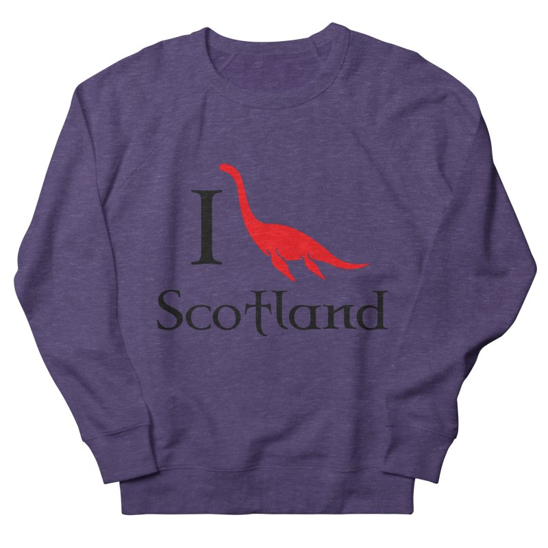 I (heart) Scotland Women's French Terry Sweatshirt by Synner Design