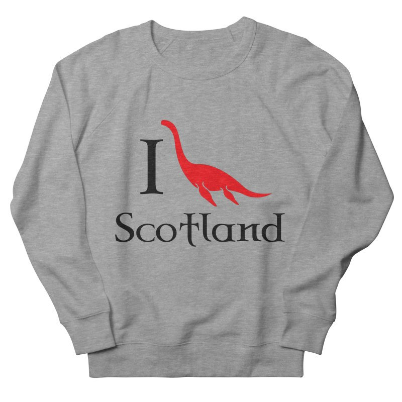 I (heart) Scotland Men's French Terry Sweatshirt by Synner Design