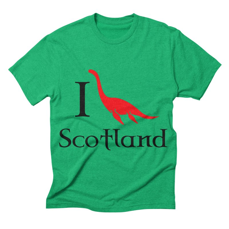 I (heart) Scotland Men's Triblend T-shirt by Synner Design