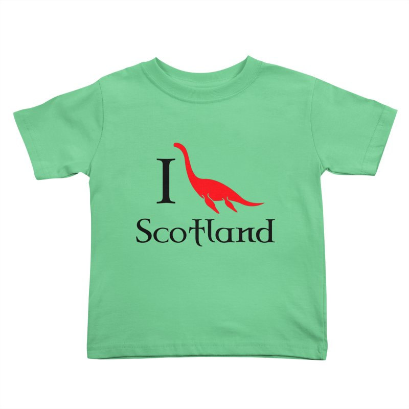I (heart) Scotland Kids Toddler T-Shirt by Synner Design