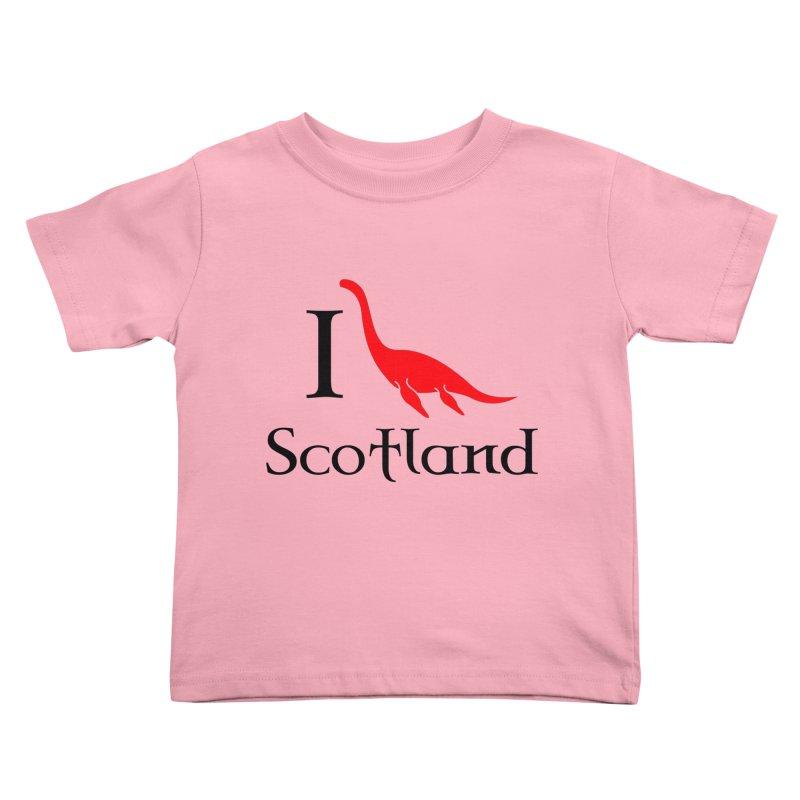 I (heart) Scotland Kids Toddler T-Shirt by Synner Design
