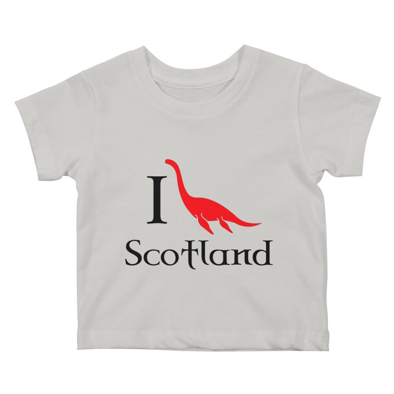 I (heart) Scotland Kids Baby T-Shirt by Synner Design