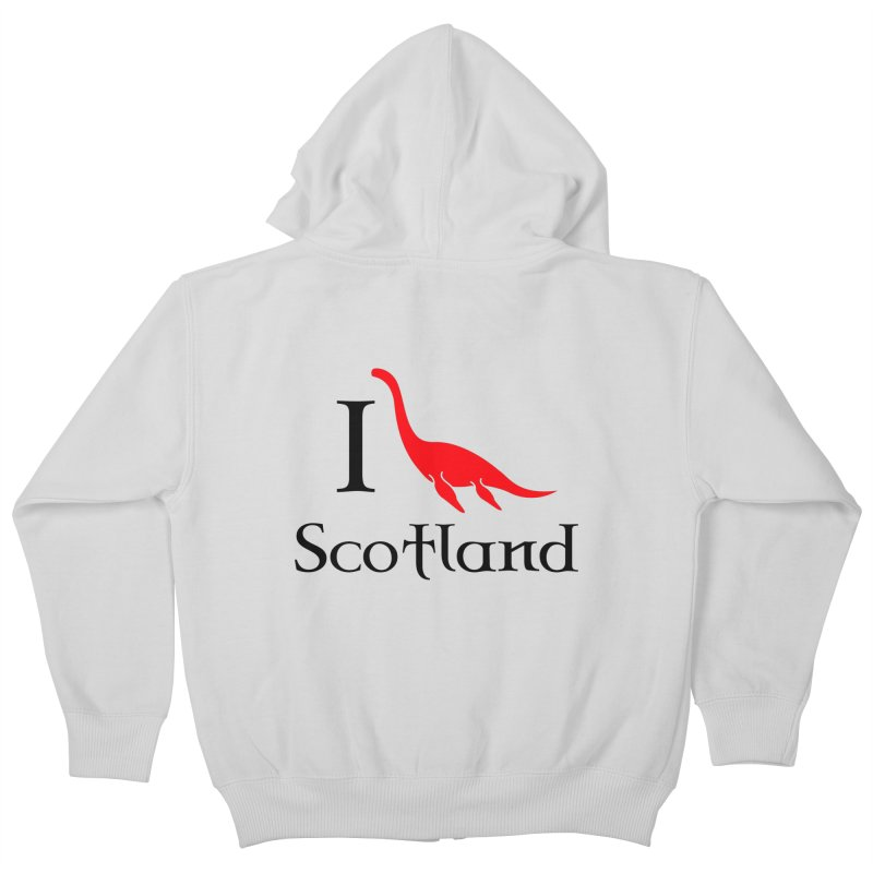 I (heart) Scotland Kids Zip-Up Hoody by Synner Design