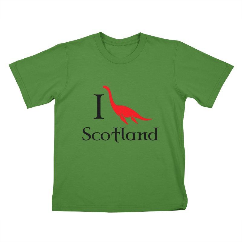 I (heart) Scotland Kids T-shirt by Synner Design