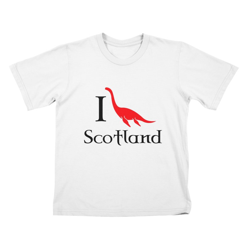 I (heart) Scotland Kids T-shirt by Synner Design