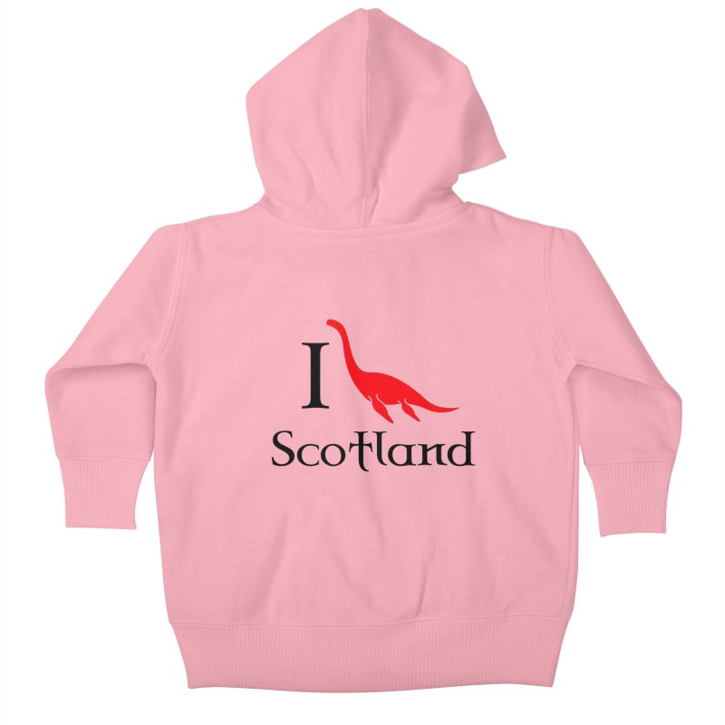 I (heart) Scotland Kids Baby Zip-Up Hoody by Synner Design