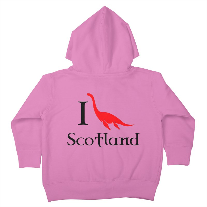 I (heart) Scotland Kids Toddler Zip-Up Hoody by Synner Design