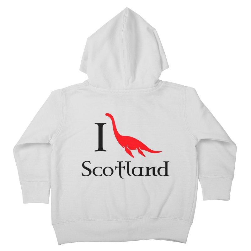 I (heart) Scotland Kids Toddler Zip-Up Hoody by Synner Design