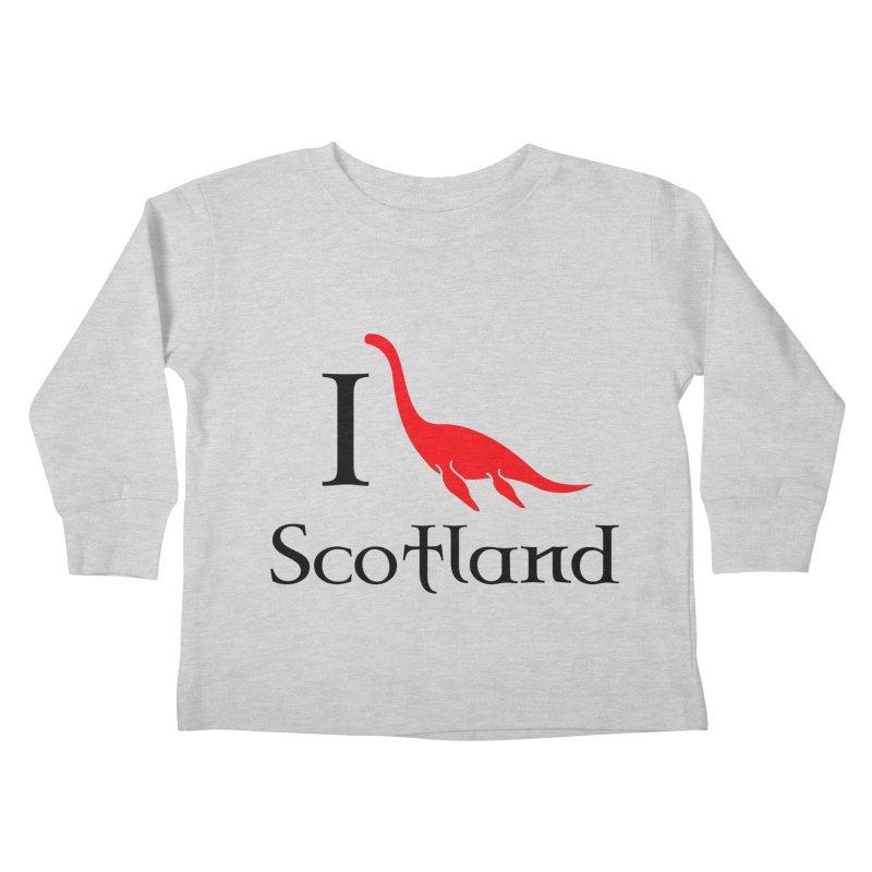I (heart) Scotland Kids Toddler Longsleeve T-Shirt by Synner Design
