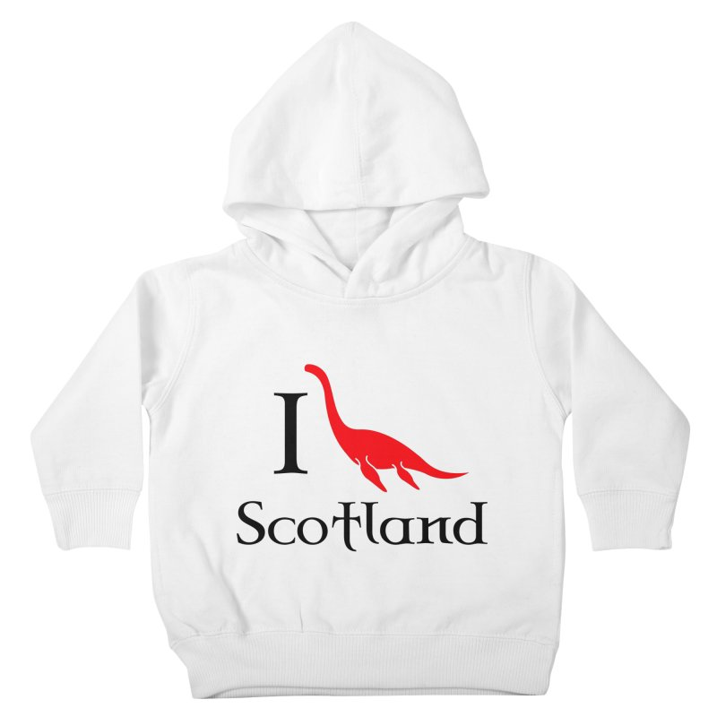 I (heart) Scotland Kids Toddler Pullover Hoody by Synner Design