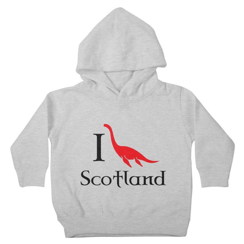 I (heart) Scotland Kids Toddler Pullover Hoody by Synner Design