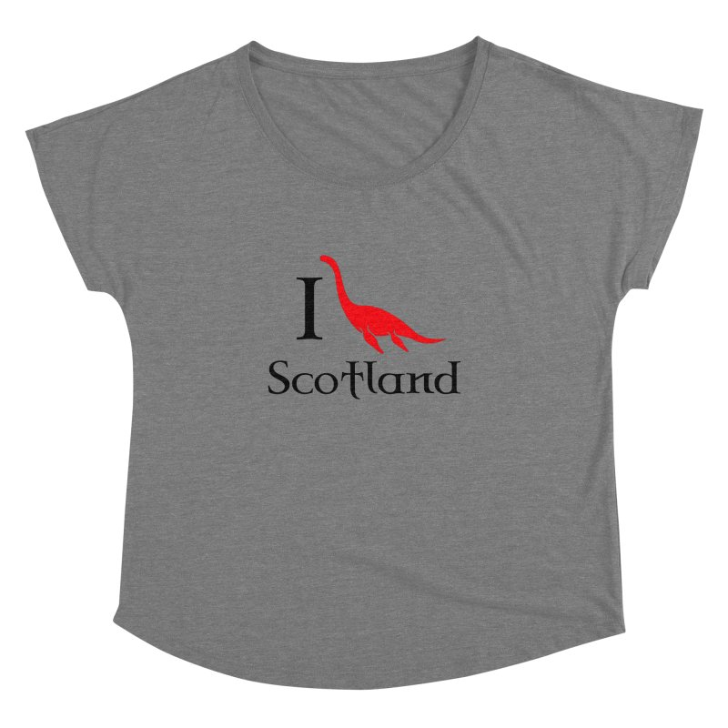 I (heart) Scotland Women's Scoop Neck by Synner Design