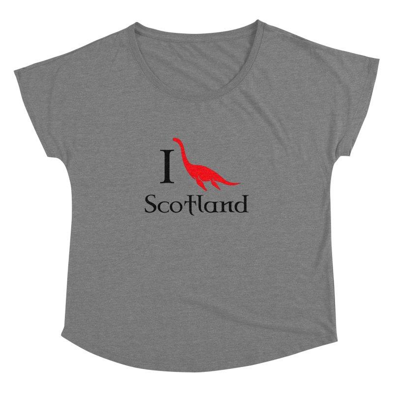 I (heart) Scotland Women's Dolman by Synner Design