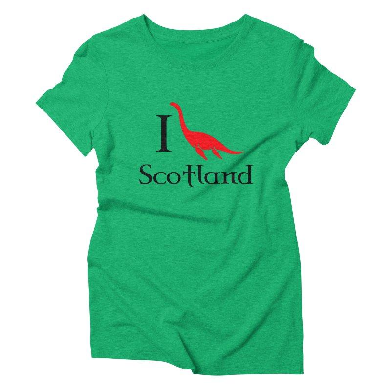 I (heart) Scotland Women's Triblend T-shirt by Synner Design
