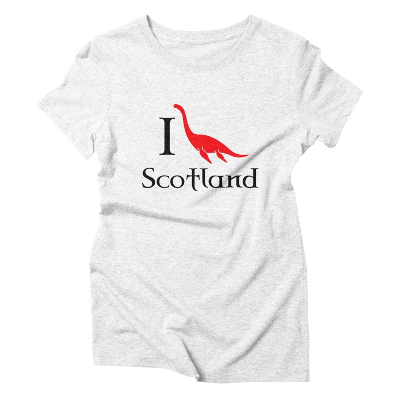 I (heart) Scotland Women's Triblend T-shirt by Synner Design