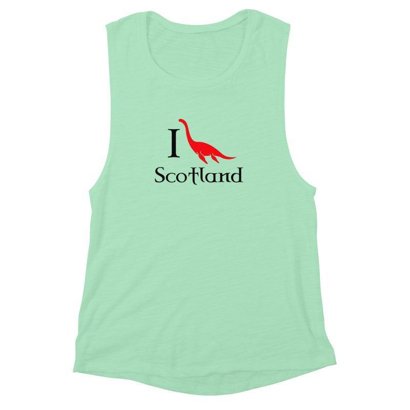 I (heart) Scotland Women's Muscle Tank by Synner Design