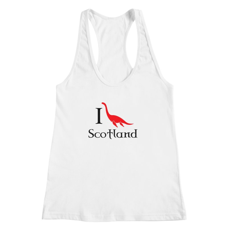 I (heart) Scotland Women's Racerback Tank by Synner Design