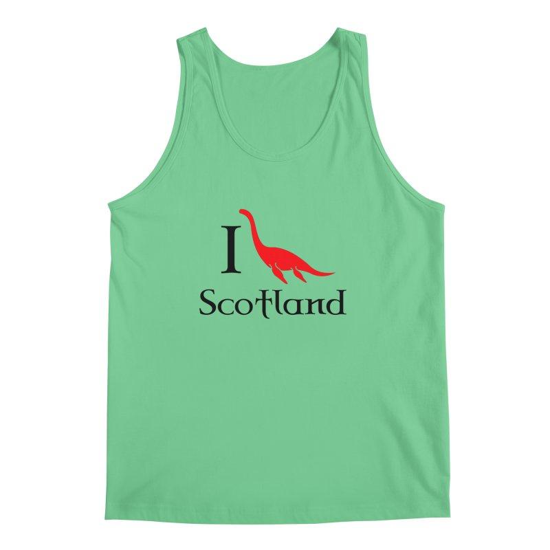 I (heart) Scotland Men's Tank by Synner Design
