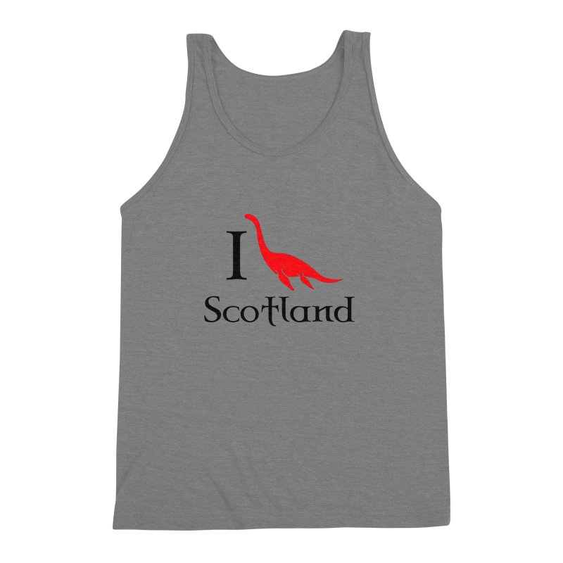 I (heart) Scotland Men's Triblend Tank by Synner Design