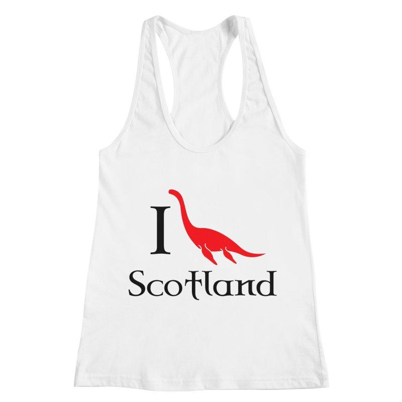 I (heart) Scotland Women's Racerback Tank by Synner Design