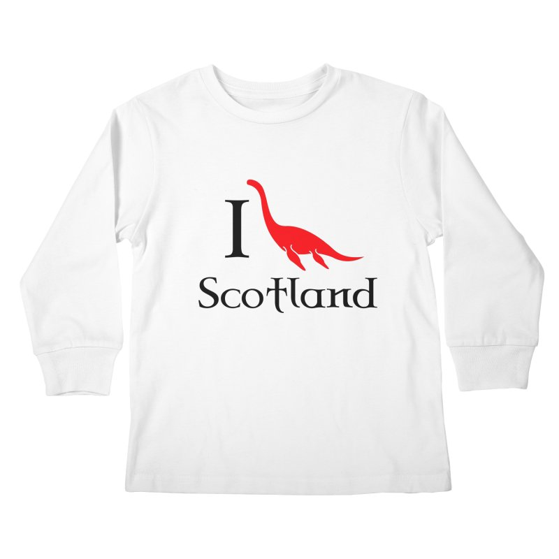 I (heart) Scotland Kids Longsleeve T-Shirt by Synner Design