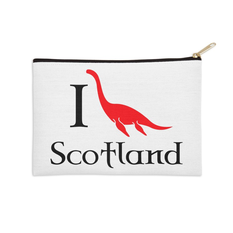 I (heart) Scotland Accessories Zip Pouch by Synner Design